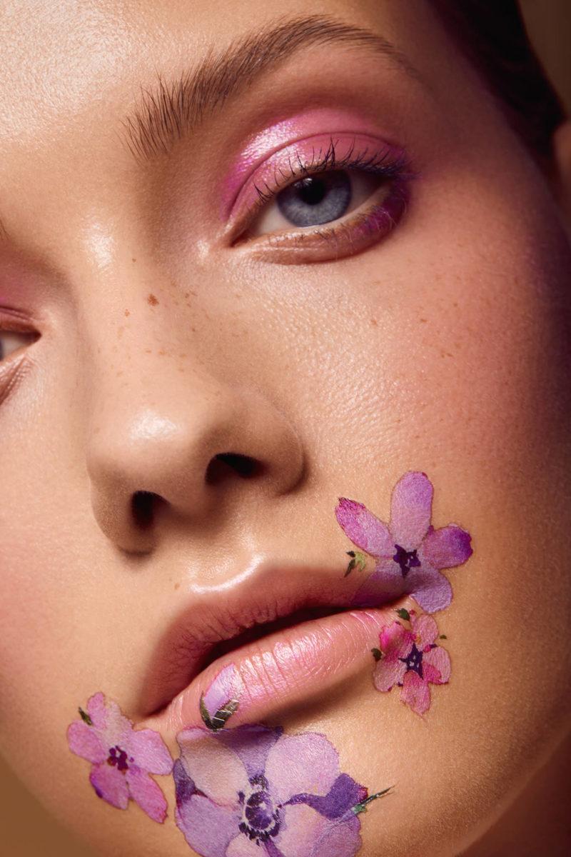 Beauty Closeup Retouching Dreaming