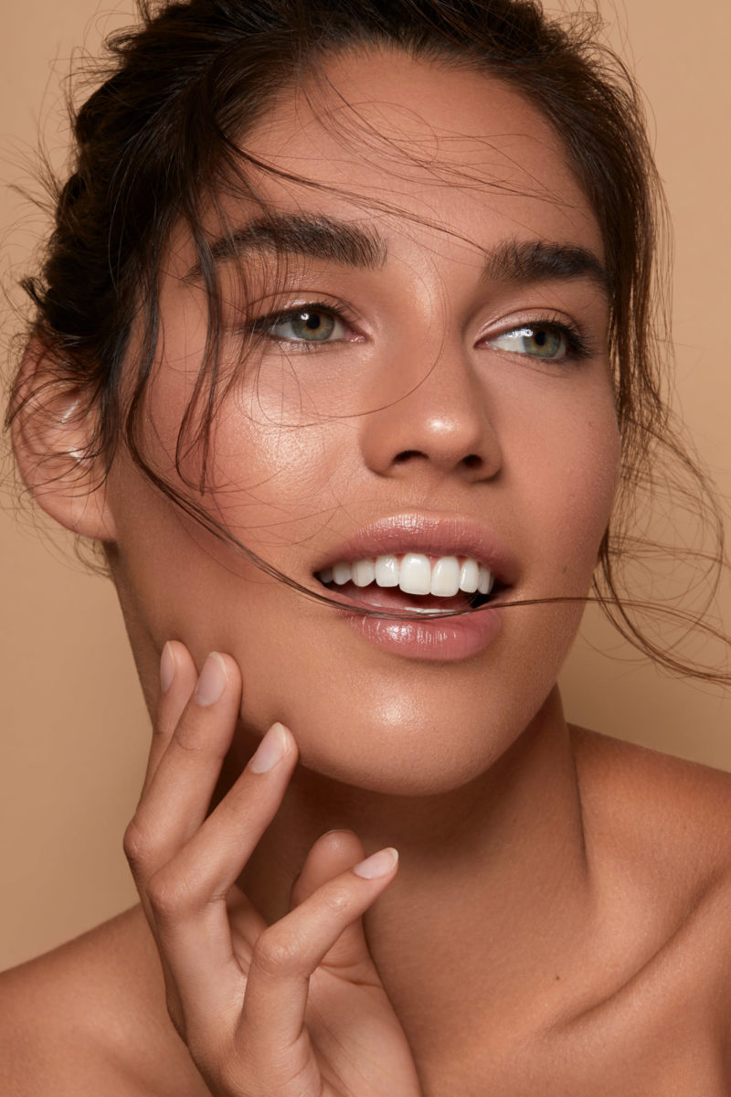 Skin retouching Natural skincare