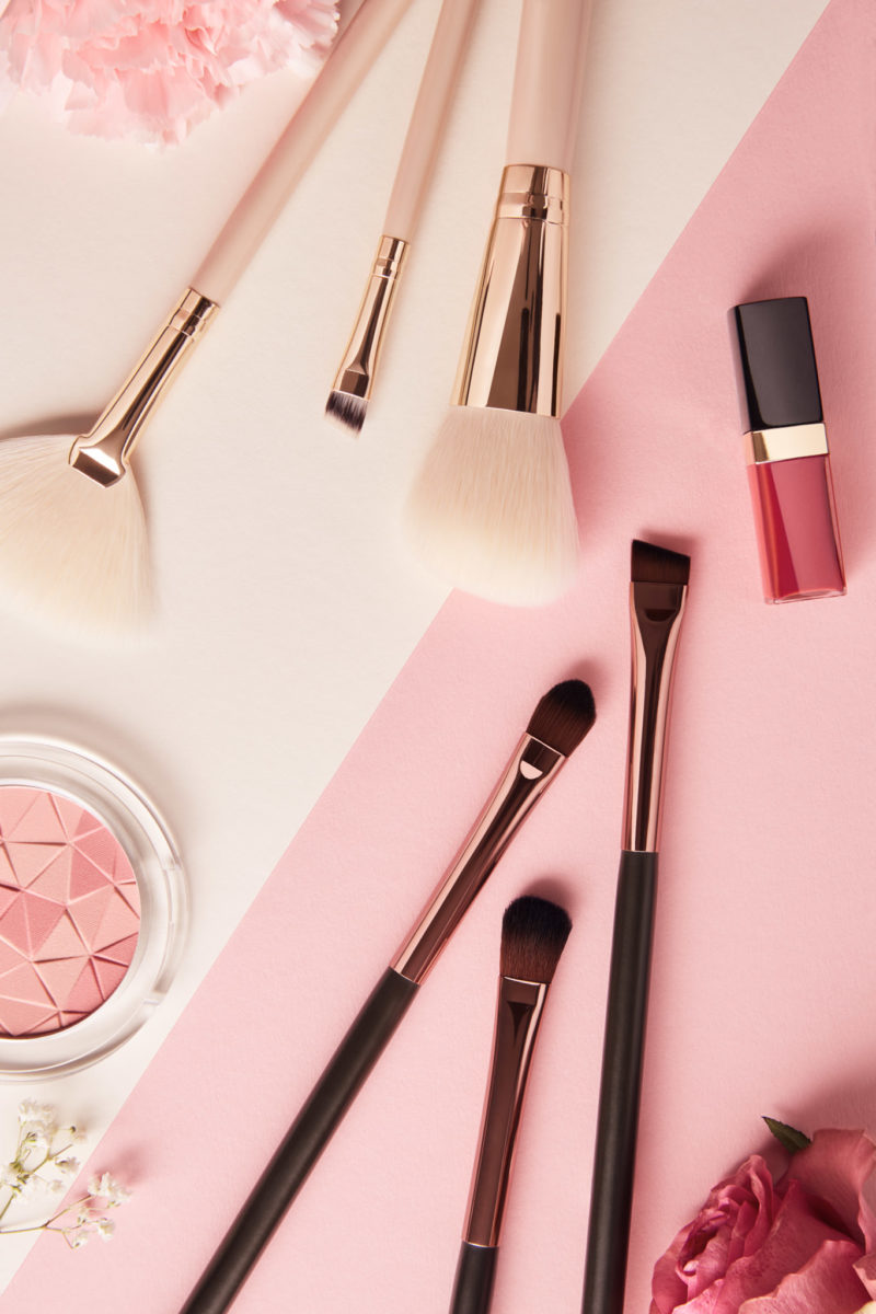 Product Shot Pinsel, Gloss, Blush