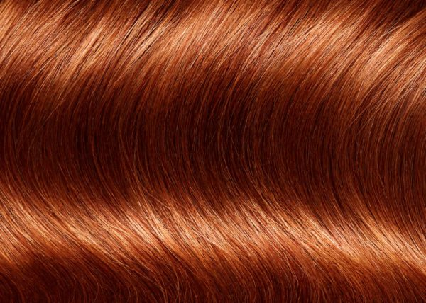 Hair closeup commercial look retouching