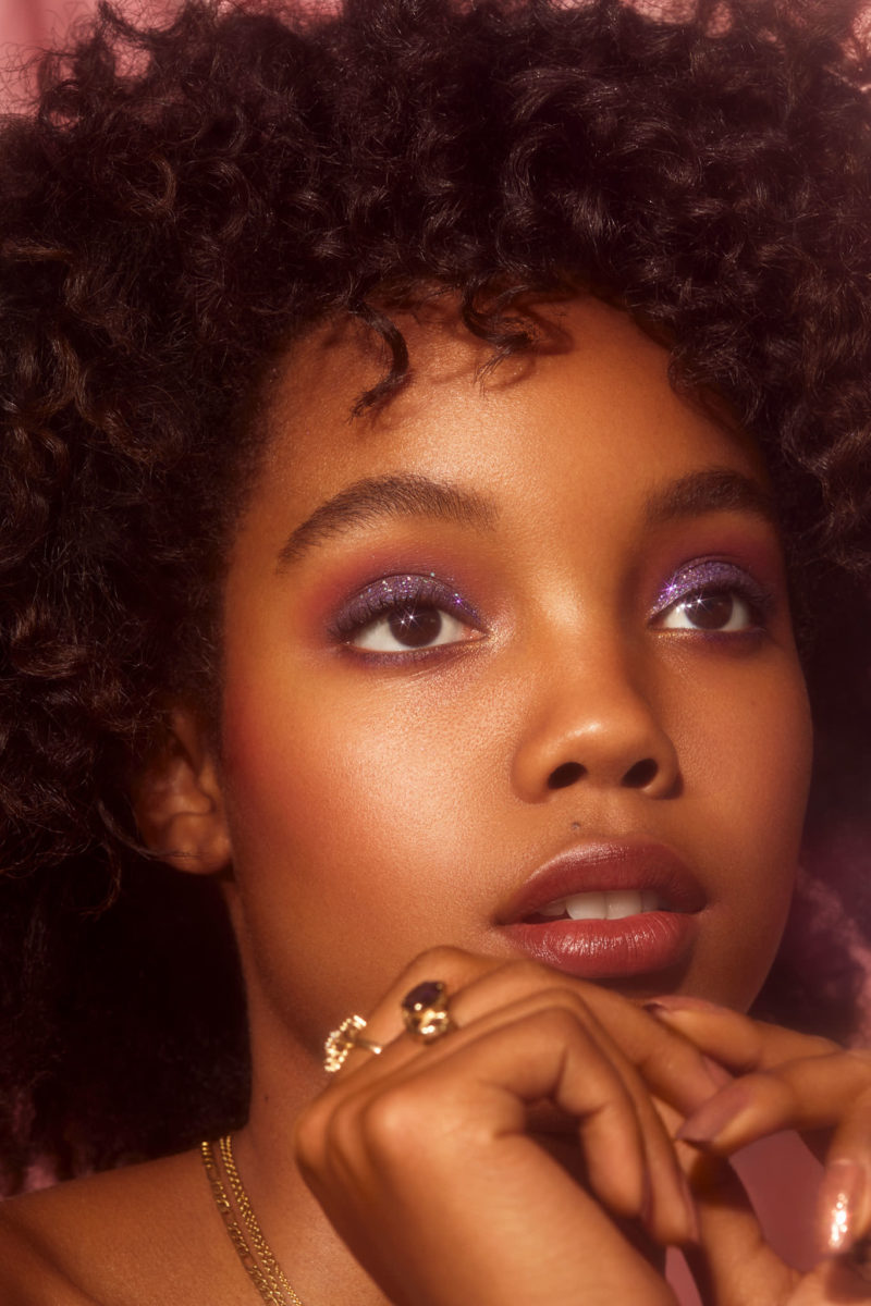 Party all the time beauty editorial