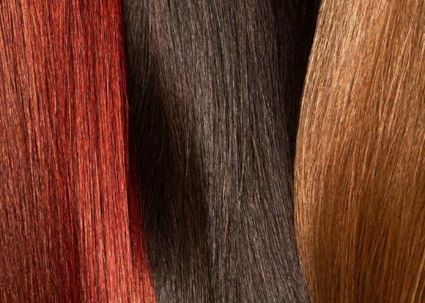 Hair closeup brown, high end hair retouching