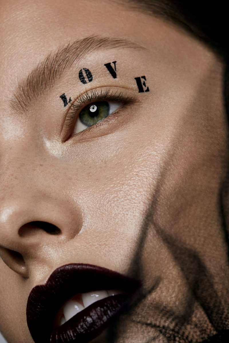 Hearts are wild creatures - beauty editorial high end retouching