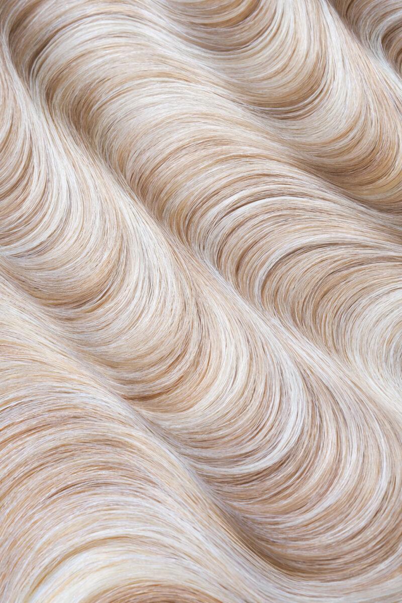 Light blond hair closeup by Alexander Geipel