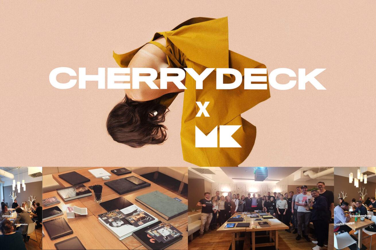 Cherrydeck x MK Retouching event