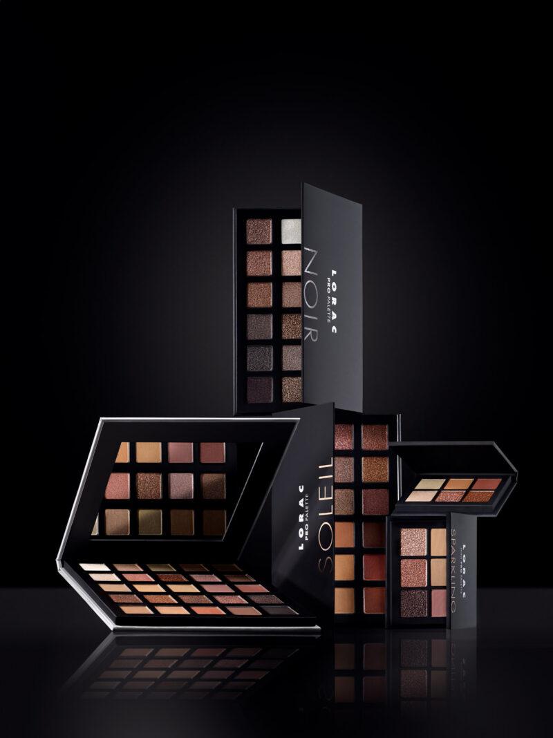 PRO Palettes SOLEIL & NOIR for Lorac Beauty Fall 2020