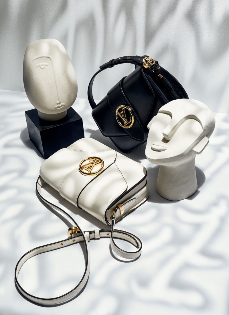 LOUIS VUITTON V PONT 9 Bags Editorial Elle Magazine